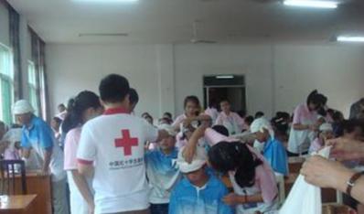 城市文明程度指数测评——关爱社会—红十字青少年夏令营志愿服务活动